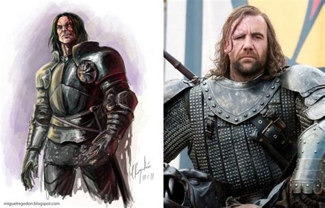 Game of Thrones Characters: In the Books vs