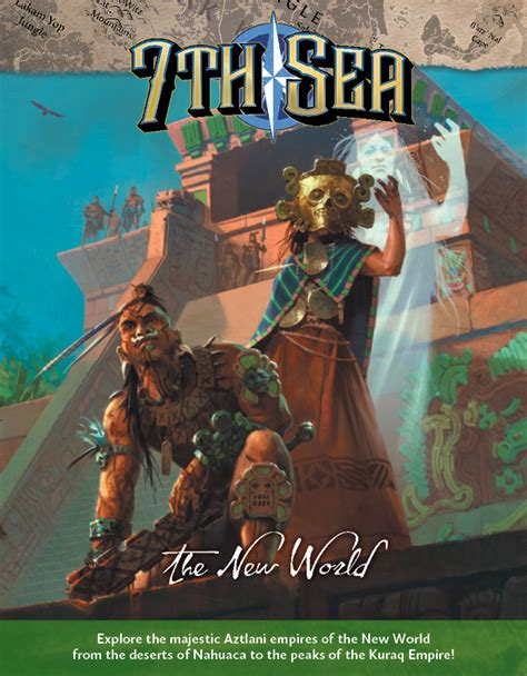 7th Sea - The New World - Print + PDF - Sphärenmeisters Spiele