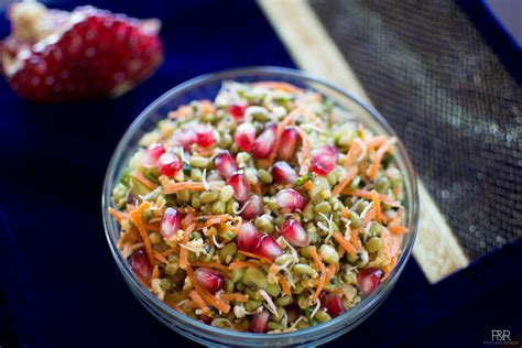 Sprouted Mung Beans/Moong Salad Recipe – Food and Remedy