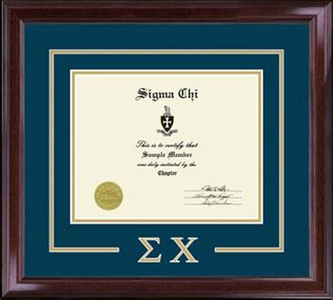 Sorority and Fraternity Frames - Church Hill Classics