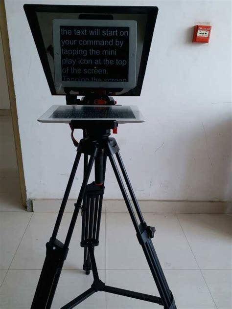 Android iOS system Tablet and Smartphone Teleprompter Pad