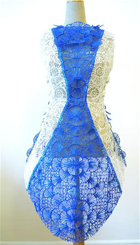 Incredible Dress 3D Printed With The 3Doodler Pen by