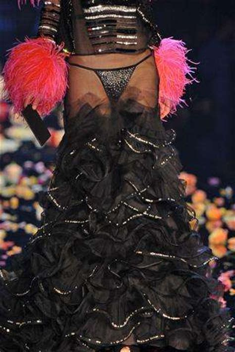 Exhibionist Couture: See-Through Garments Leave Too Little