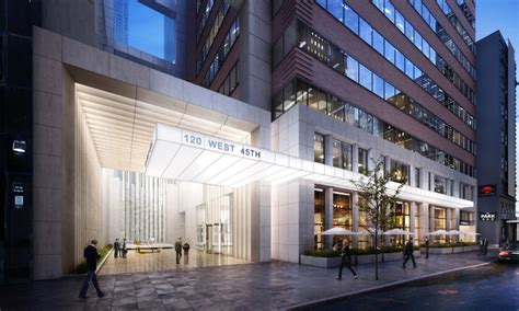 Renovation Planned at Tower 45, the 40-Story Office Tower