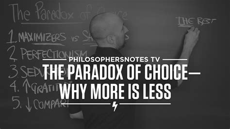 PNTV: The Paradox of Choice by Barry Schwartz - YouTube