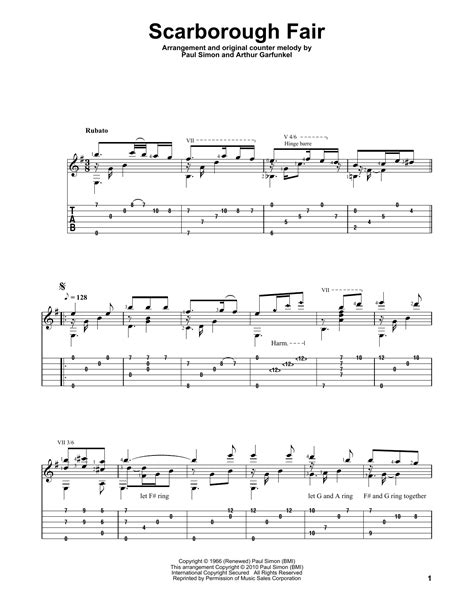 Scarborough Fair/Canticle | Sheet Music Direct