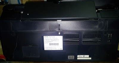 How to know where is located the serial number of Epson