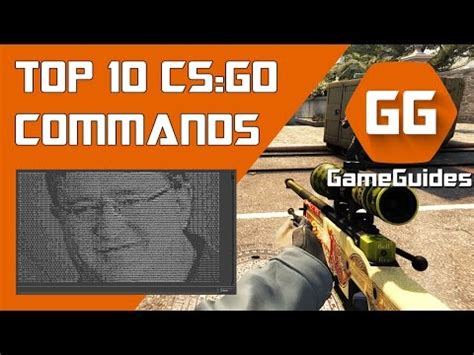 Top 10 λ CS:GO Useful Console Commands 2017 - YouTube