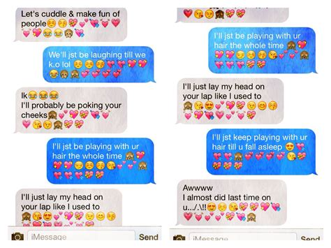 Cute text messages   We Heart It   awww, couples, and sweet