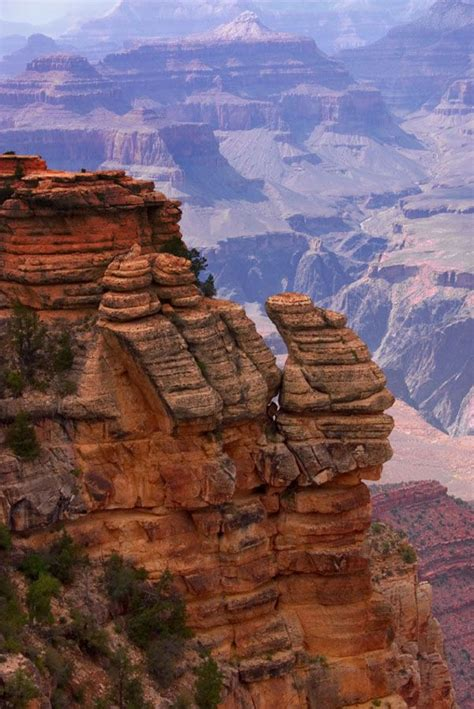view from mather point, south rim, grand canyon, arizona