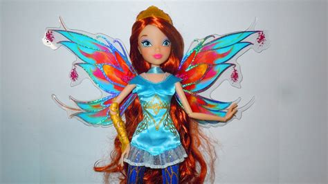 Winx Club: Bloom Bloomix Power Doll Review - YouTube
