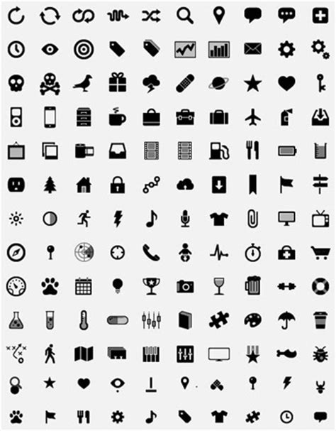 Simple Small Icons Vector Graphics   Free Icon   All Free