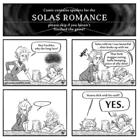 """""""Put this in the game, and people who hate Solas will"""