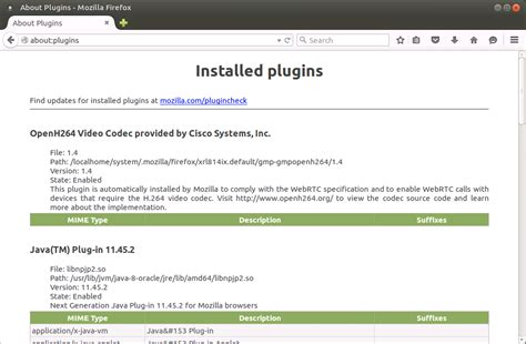 Firefox Web Browser on Linux