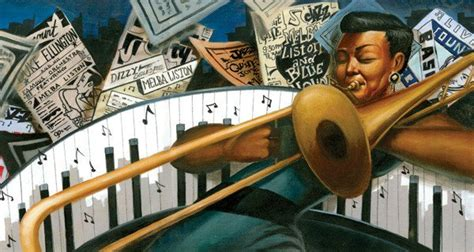 Little Melba and Her Big Trombone, illustrated by Frank