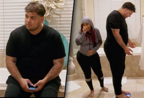 Watch Rob Kardashian Reveal How Much Weight He's Gained
