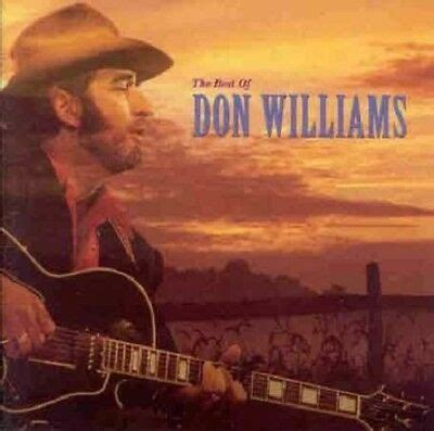 DON WILLIAMS - THE BEST OF CD ALBUM (20 TRACK COLLECTION