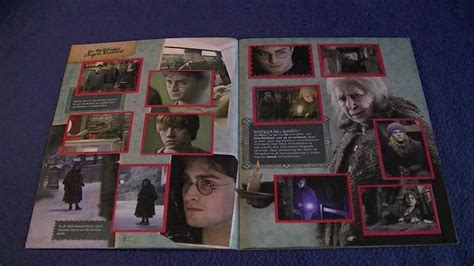 Harry Potter and the Deathly Hallows part 1 Sticker Album