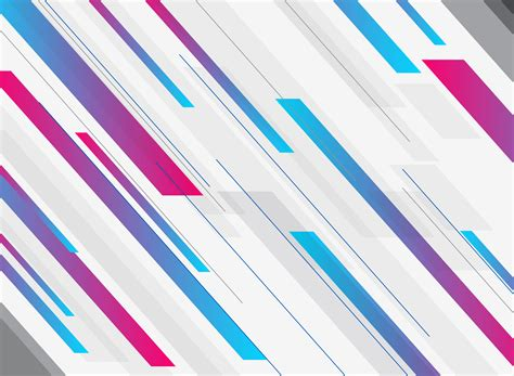 Abstract technology geometric blue and pink gradient