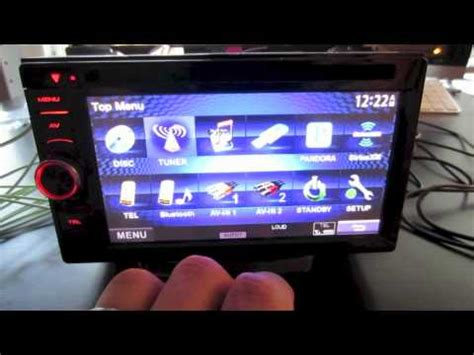 Kenwood DDX 470 Car Stereo overview - Double Din - YouTube