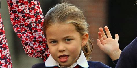 Princess Charlotte is the double of Diana's niece, Kitty