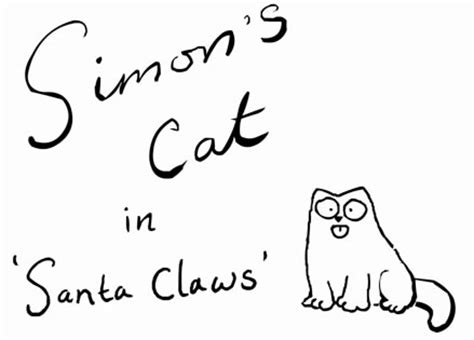 Simon's Cat in 'Santa Claws' by Simon Tofield! A Holiday