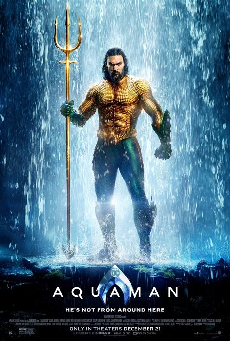 Aquaman Suits Up in Two New Posters   DC