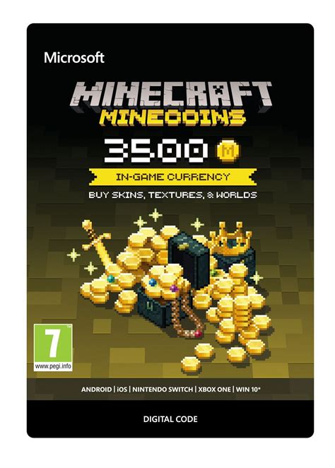 Minecraft Minecoins Pack - 3500 Coins - PC / Xbox One