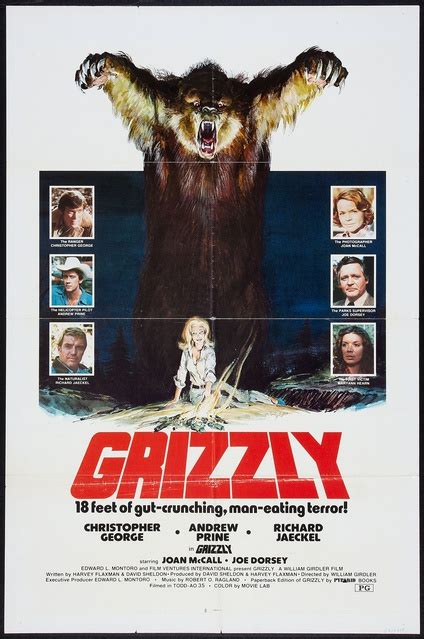 Grizzly   One Sheet   Movie Posters   Limited Runs