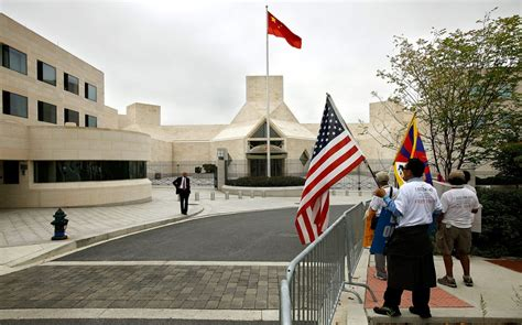 China livid over US plan to rename embassy street after