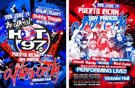 Official Hot 97 Puerto Rican Day Parade After-Party at