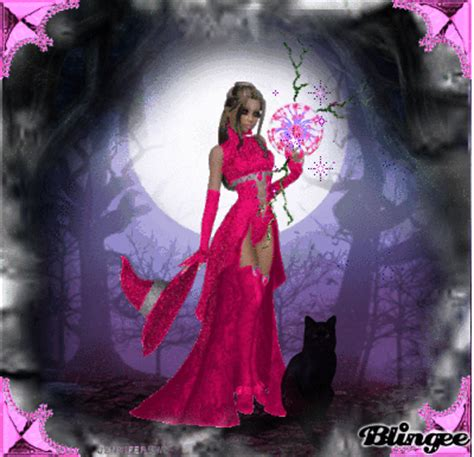pink witch Picture #100748480 | Blingee