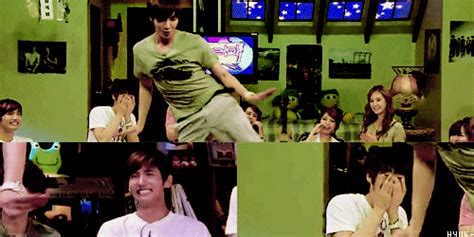F is for FzA: when leeteuk starts 2 dance