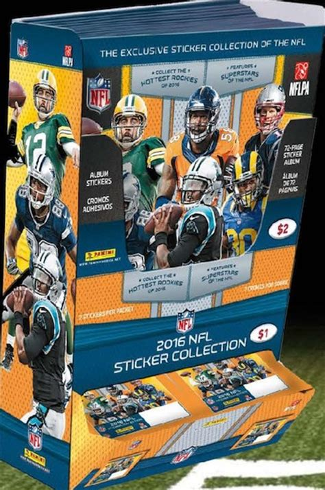 2016 Panini NFL Stickers Collection Checklist, Set Info
