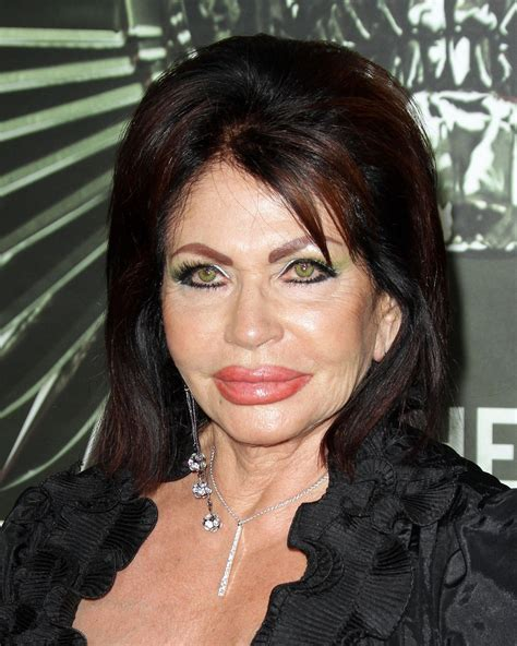 Jackie Stallone inflates collagen injection rumours as she