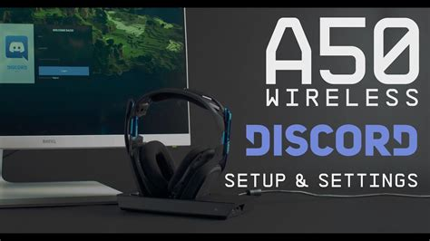 ASTRO Gaming A50 + Discord Setup Guide - YouTube