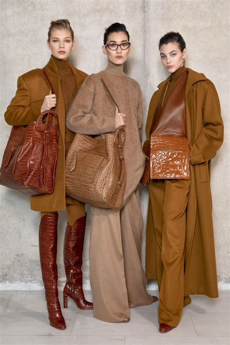 BACKSTAGE MAX MARA FW 2019-20 WOMEN'S COLLECTION | The