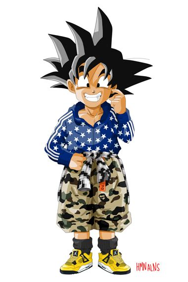 Dragon Ball Z x Human Aliens   He So Clothes Minded