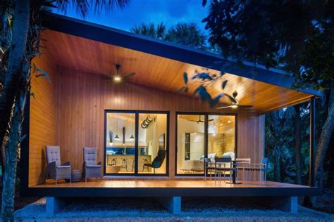 Modern home, storm resistant and senior-friendly, rises in