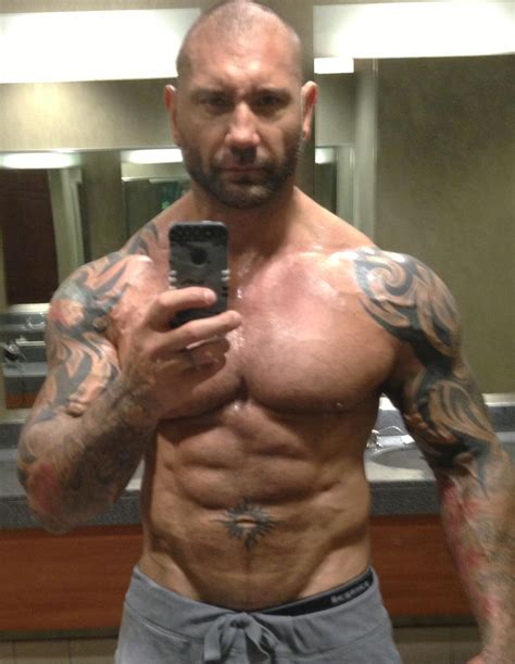 """Dave Bautista on Twitter: """"Trying to catch up to my man"""