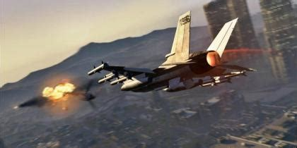 Grand Theft Auto V: How To Steal Jumbo and Fighter Jet
