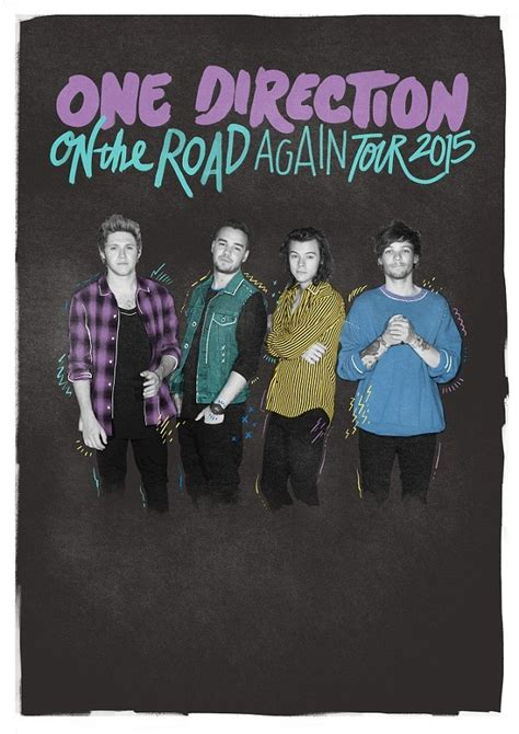 One Direction release first official tour poster without