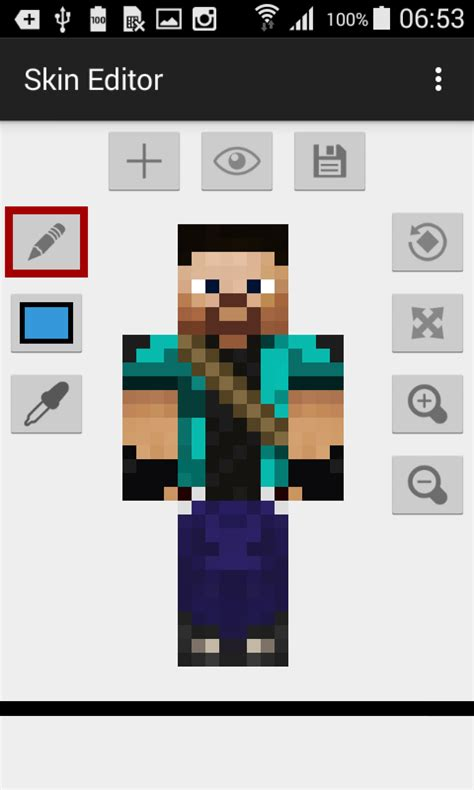 Skin Editor for Minecraft » Apk Thing - Android Apps Free