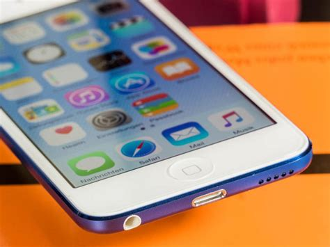 iPod touch 6G im Test: MP3-Player mit iPhone-Power