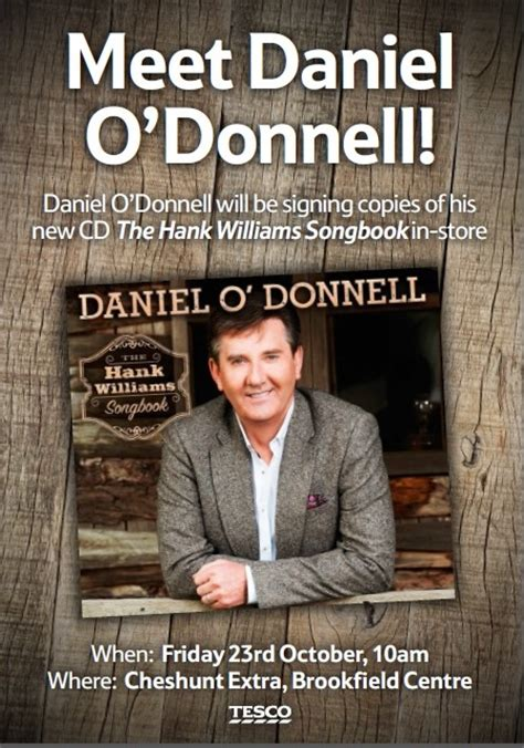 Meet Daniel O'Donnell In Person! | Demon Music Group